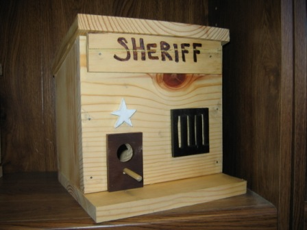 Bird House Sheriff