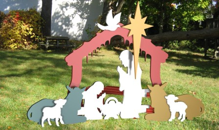 P 009W003431644000P besides Scroll Saw moreover Christmas Outdoor Nativity Set Yard Nativity Scene 1 besides Christian Christmas Nativity Scene in addition Following The Holy Ghost. on nativity sets for outdoors 1