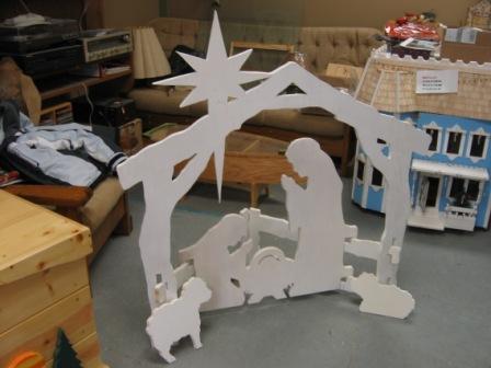 Wood Works of Cedar Springs - Nativity Scenes
