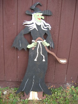 Witch Standing with Spoon